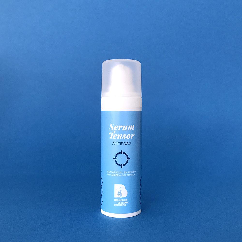 Serum tensor antiedad con agua del Balneario de Ledesma