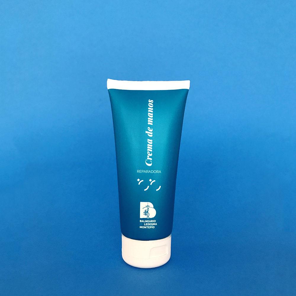 Crema de manos reparadora con agua del Balneario de Ledesma